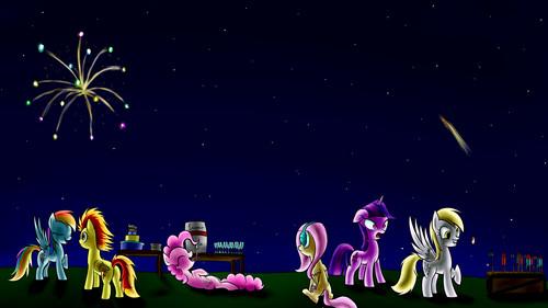 kuda, kuda kecil kertas-kertas dinding
