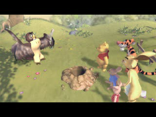 Pooh's Party Game: In 검색 of the Treasure