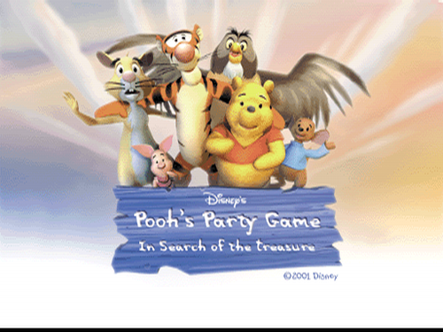 Pooh's Party Game: In zoek of the Treasure