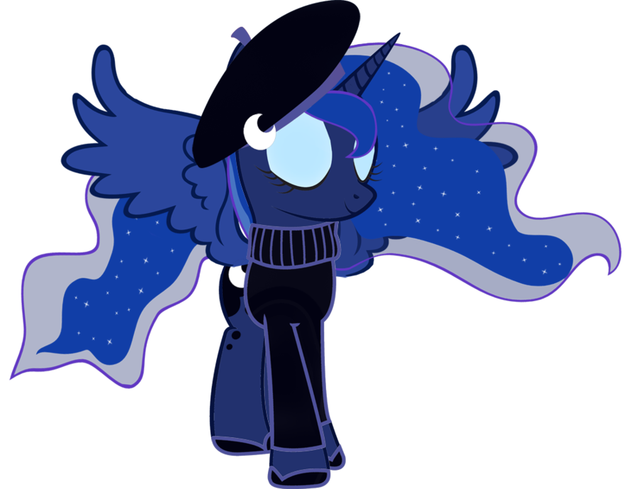 my little pony friendship is magic baby princess luna
