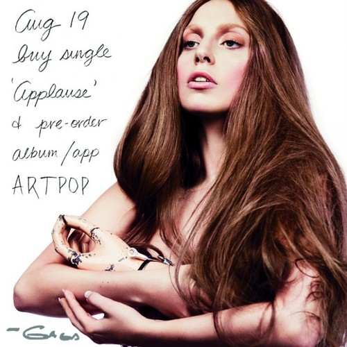 Promo image for 'Applause' -posted 由 Gaga