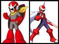 Proto Man and Protoman EXE