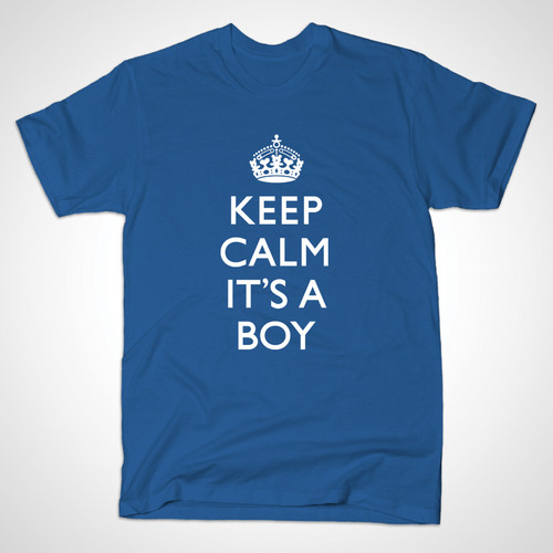 ROYAL BABY T-SHIRT (in royal blue)