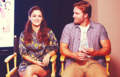 Rachel Bilson & Scott Porter @ SDCC WIRED Cafe Day 1 (July, 18th)