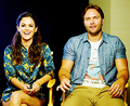 Rachel Bilson and Scott Porter @ WIRED Cafe At Comic-Con (July 18th)