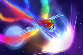 arco iris Dash's Sonic Rainboom