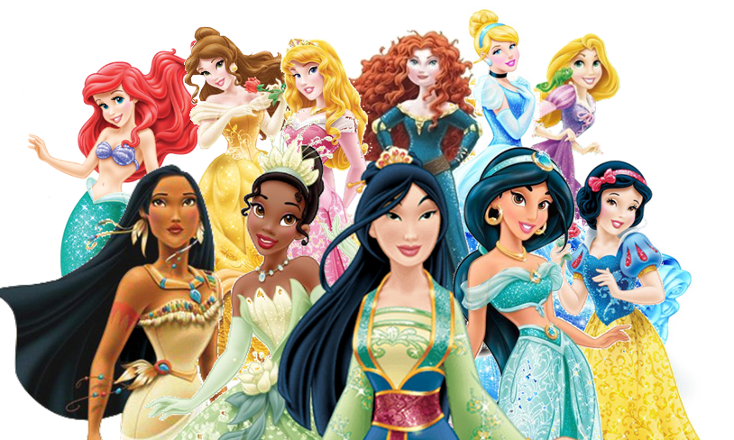 Redesigned Princesses