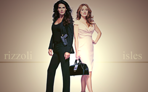 Rizzoli & Isles achtergrond edits