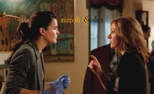 Rizzoli & Isles wallpaper edits