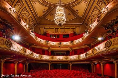 Maria Filotti theatre Braila Romania