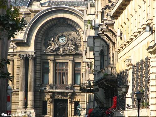 CEC palace Bucharest Romania Bucuresti capital cities