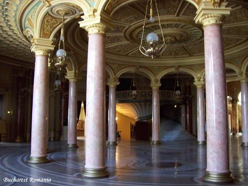 Romanian Atheneum Bucharest Romania Bucuresti cities