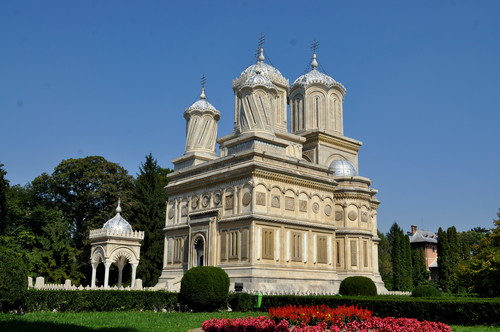 Curtea de Arges monastery Vallachia Romania orthodox