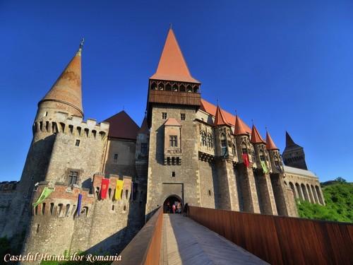 Hunyad kasteel Transylvania Romania european castles