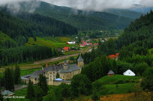 Putna monastery Moldova Romania