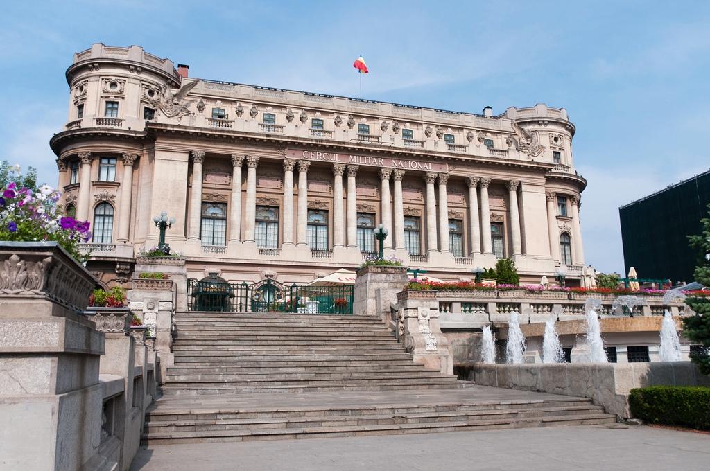 Cercul Militar architecture Bucharest Romania capital city Bucuresti