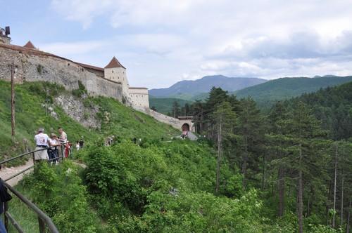 Rasnov citadel Brasov romanians Romania