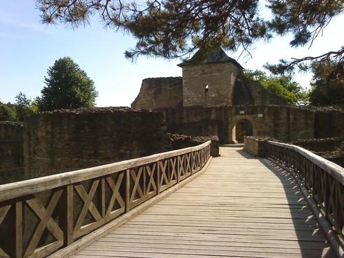 Suceava medieval citadel Romania