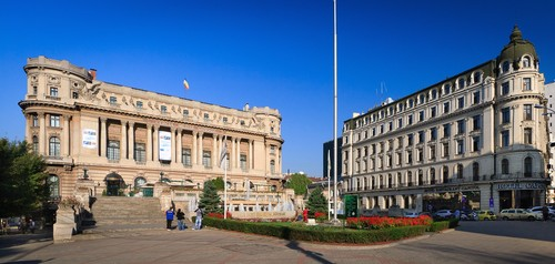 Cercul Militar and Capitol hotel Bucharest Romania city Bucuresti