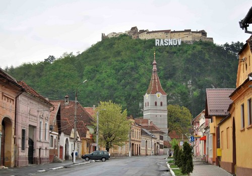 Rasnov medieval citadel Romania