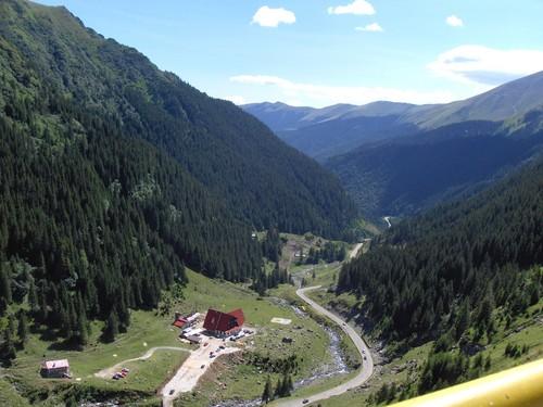 Transfagarasan Carpathian mountains Romania