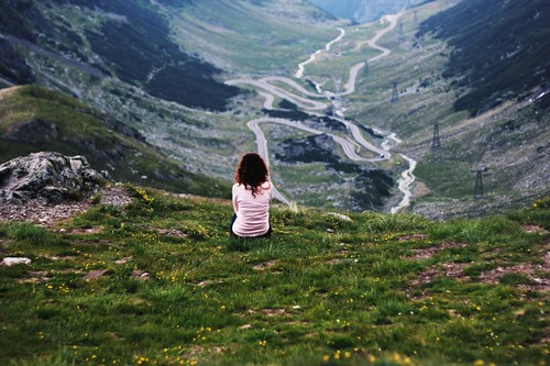 Transfagarasan Carpathian mountains Romania