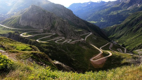 Transfagarasan road Carpathian mountains Romania eastern युरोप