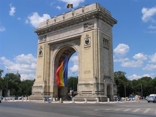 Arcul de Triumf Bucharest Bucuresti Romania capital city
