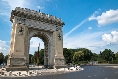 Arcul de Triumf Bucharest Romania