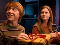 Ron and Ginny - the-weasley-family photo