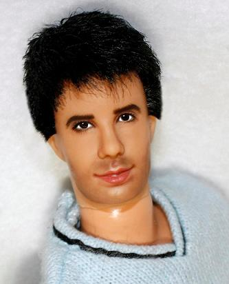 Ross Geller doll