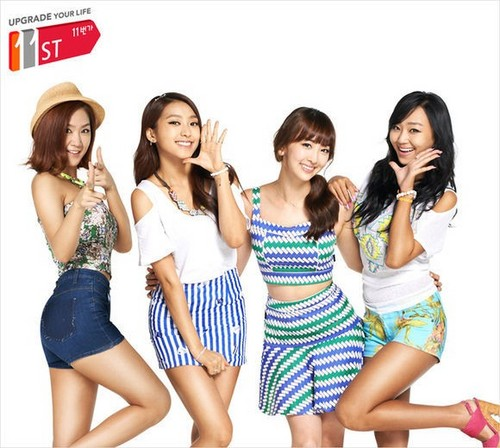 SISTAR new face of online open market '11st'
