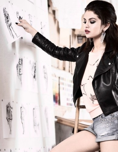 Selena Gomez Neo Photoshoot