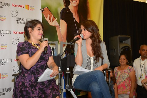Selena at the Kmart Dream Out Loud Fall Collection Launch on Wednesday (July 24) in New York