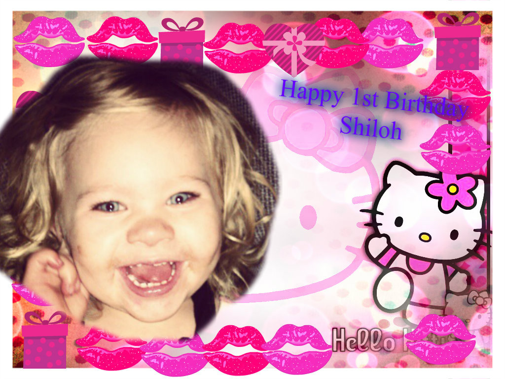 Hello Kitty Images Shiloh S 1st Birthday Hd Wallpaper And Background