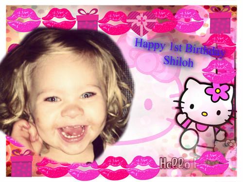 Shiloh's 1st Birthday