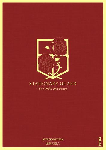 Shingeki no Kyojin [Stationary Guard]