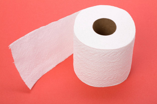 Shrinking toilet paper rolls