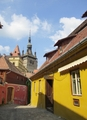 Sighisoara most beautiful european villages eastern europe - romania photo