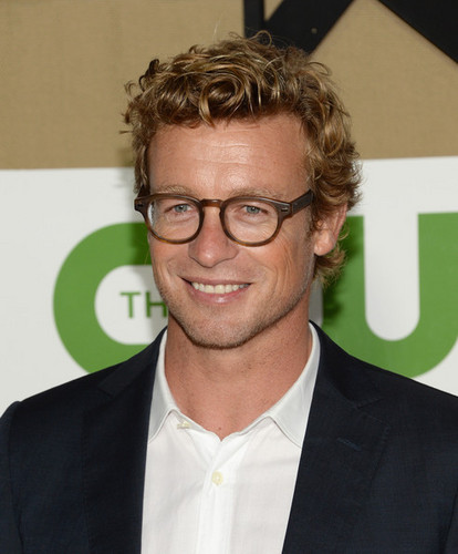 Simon Baker at CW, CBS And Showtime 2013 Summer TCA Party - Arrivals