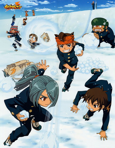 Snow Ball Fight! =D