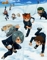 Snow Ball Fight! =D - inazuma-eleven photo