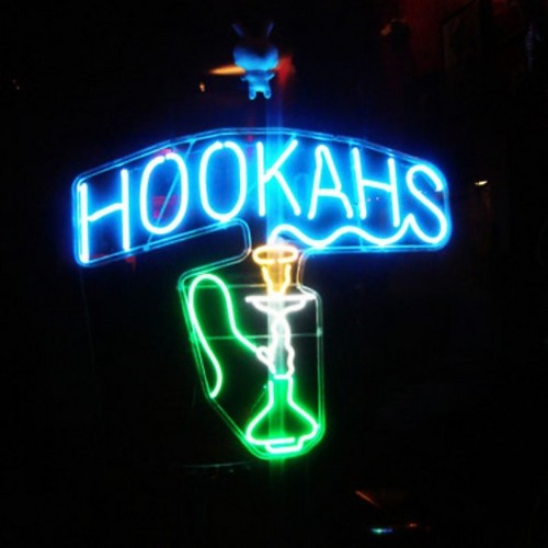 So we pull up to Hookahs
