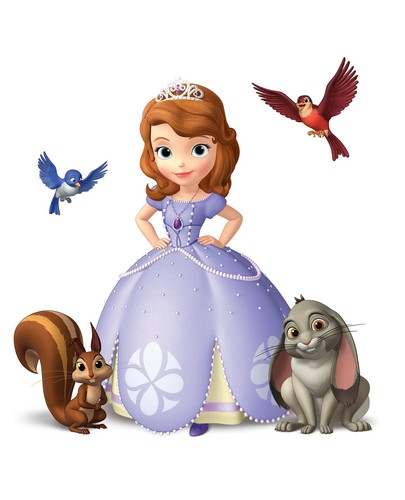 Disney Princess achtergrond called Sofia The First