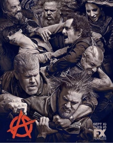 Sons Of Anarchy - Season 6 - poster