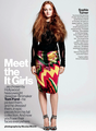 Sophie Turner 【US Glamour Magazine; Sep 2013】