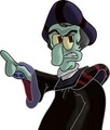 Squidward as Frollo