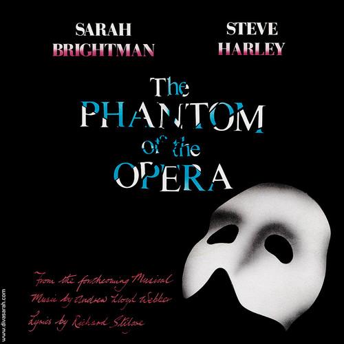 Steve Harley & Sarah Brightman The Phantom Of The Opera LP Cover