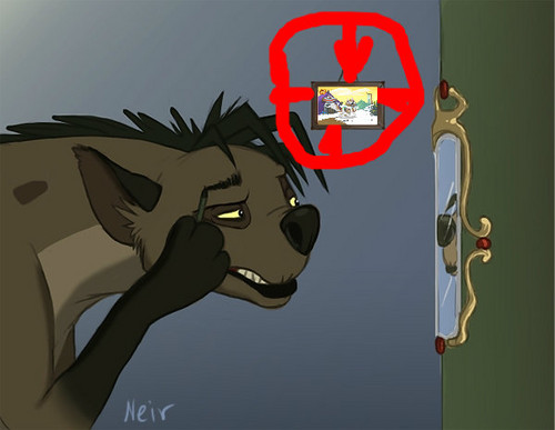 Hyenas from Lion King karatasi la kupamba ukuta probably containing anime called THATS THE SECRET
