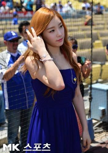 TaeTiSun @ Dodgers Stadium